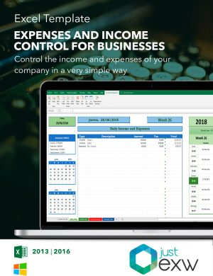 Expenditure control template